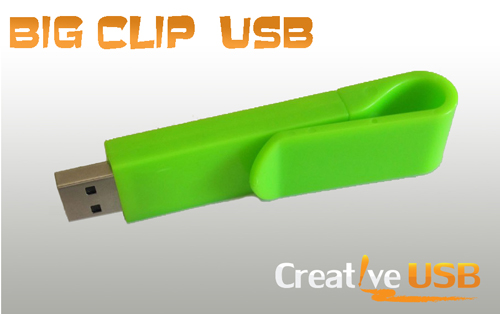 Big Clip Style USB Drive